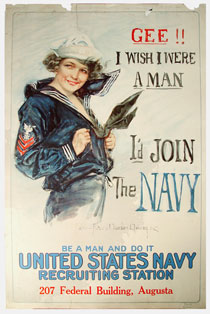 World War I recruiting poster, 1917