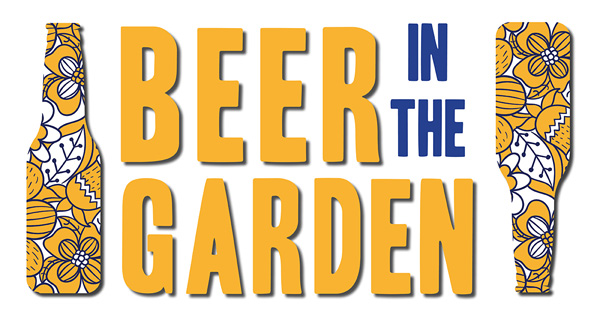 Beer in Garden graphic