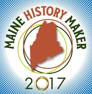 Maine History Maker graphic