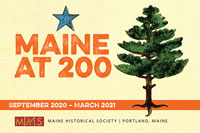 Maine at 200 graphic
