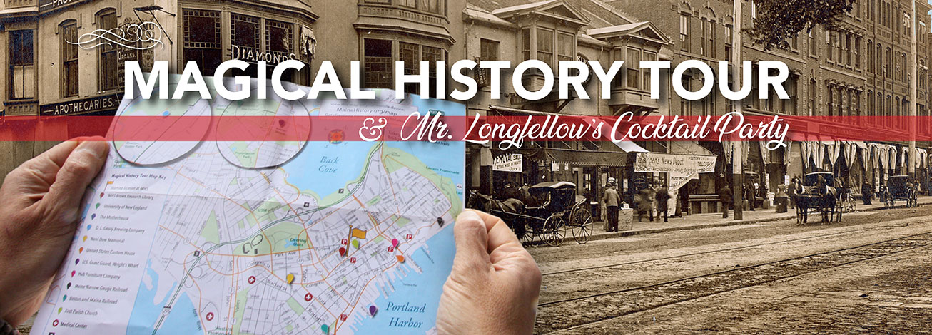 Don't miss the Magical History Tour and cocktail party.