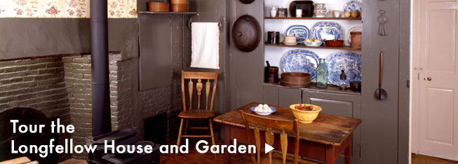 Tour the Longfellow House and garden