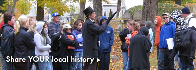 Share your local history