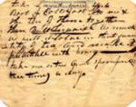 Medical recipe, Maine, ca. 1790. MMN #7572