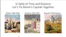Connecting Maine's Capitals by Stagecoach - a talk with Leland J. Hanchett, Jr.