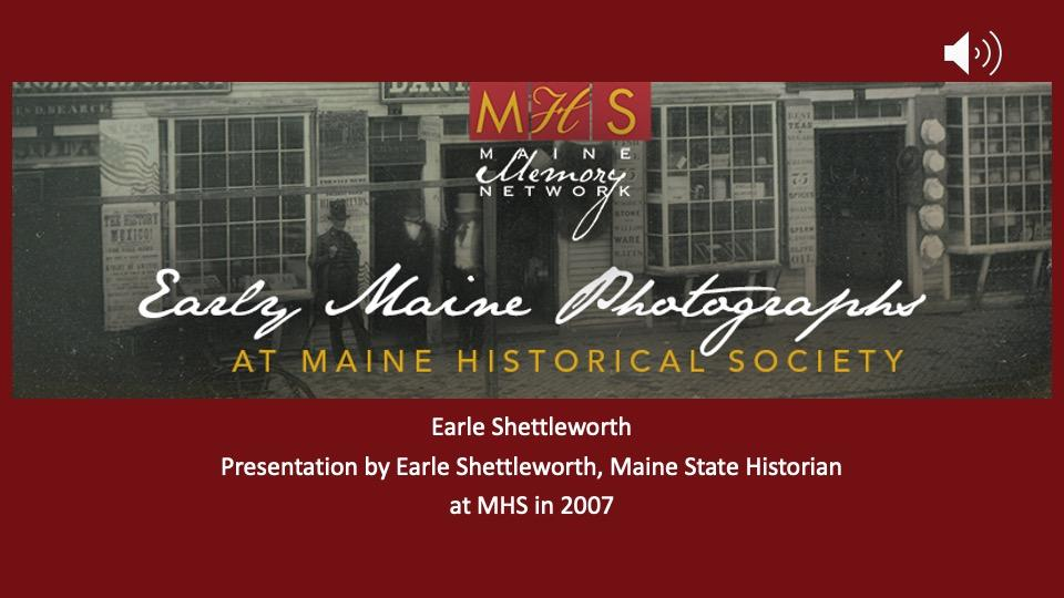 Vickery-Shettleworth Early Maine Photography Collection